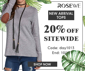 20% off for new arrival tops