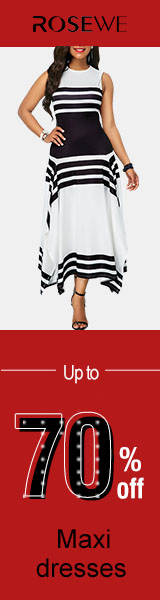 Up to 70% off for maxi dresses