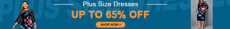 Plus Size Dresses, Up To 65% Off.