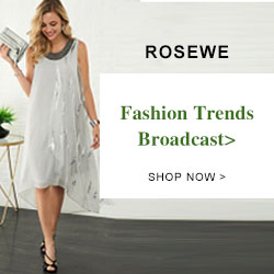 ROSEWE Fashion Trends Broadcast> SHOP NOW>