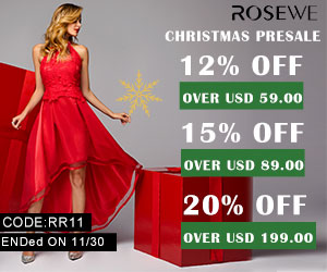 Christmas Presale,12% off over USD 59.00