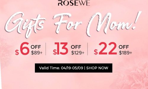 Rosewe Dress! 3rd get 15% off,5th get 30% off.