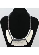 wholesale Solid Silver Metal Necklace for Party