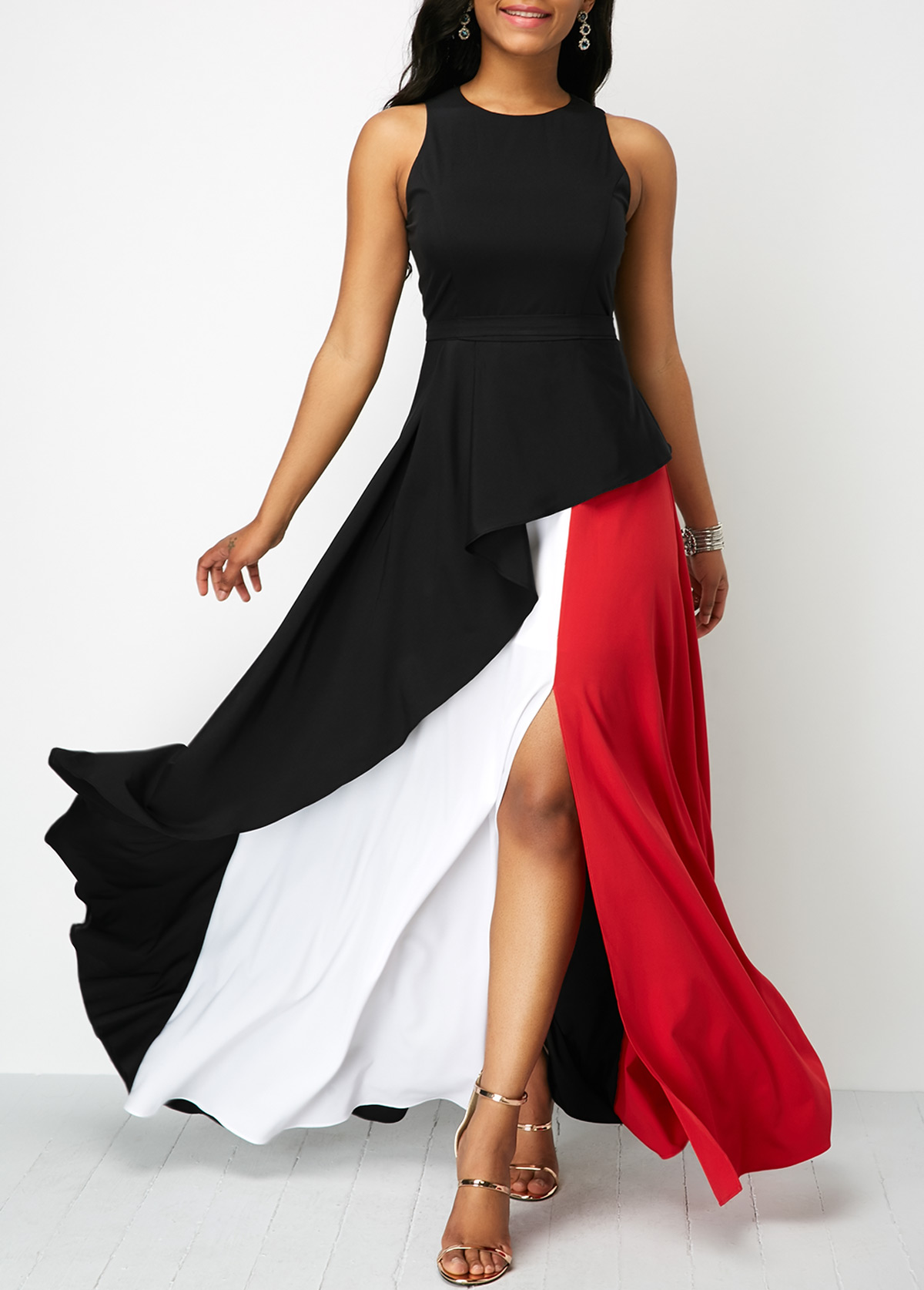Maxi Dresses with Slit