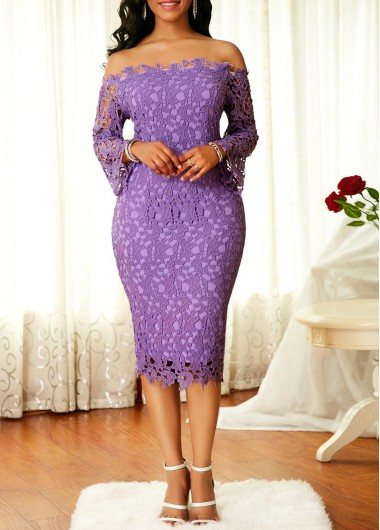 Purple Dresses For Women Online Shop Free Shipping Rosewe