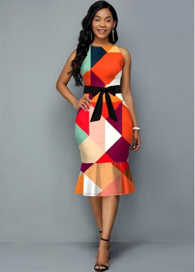 RoseweWomen'S Multi Color Geometric
