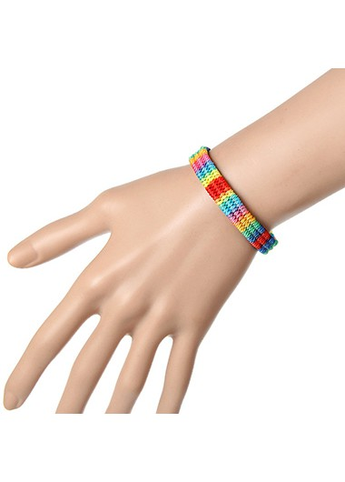 Mother's Day Gifts Multi Color Beads Design Bracelet for Women - One Size