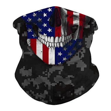 Army Green American Flag Print Neck Tube Bandanas