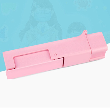 Pink Portable Touch-Preventing Tool