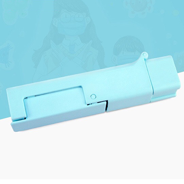Blue Portable Touch-Preventing Tool