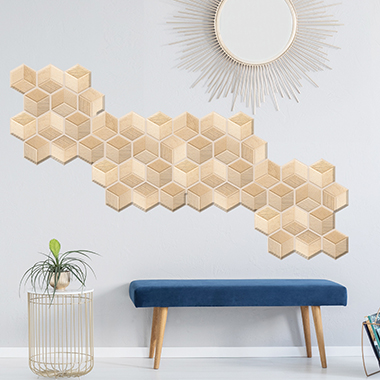 3D 1 Piece Brick Pattern Sticker