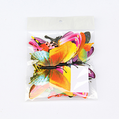 Butterfly Shape 12 Pieces 3D Stickers