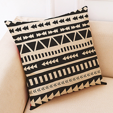 1pc 45 X 45cm Geometric Print Pillow Case