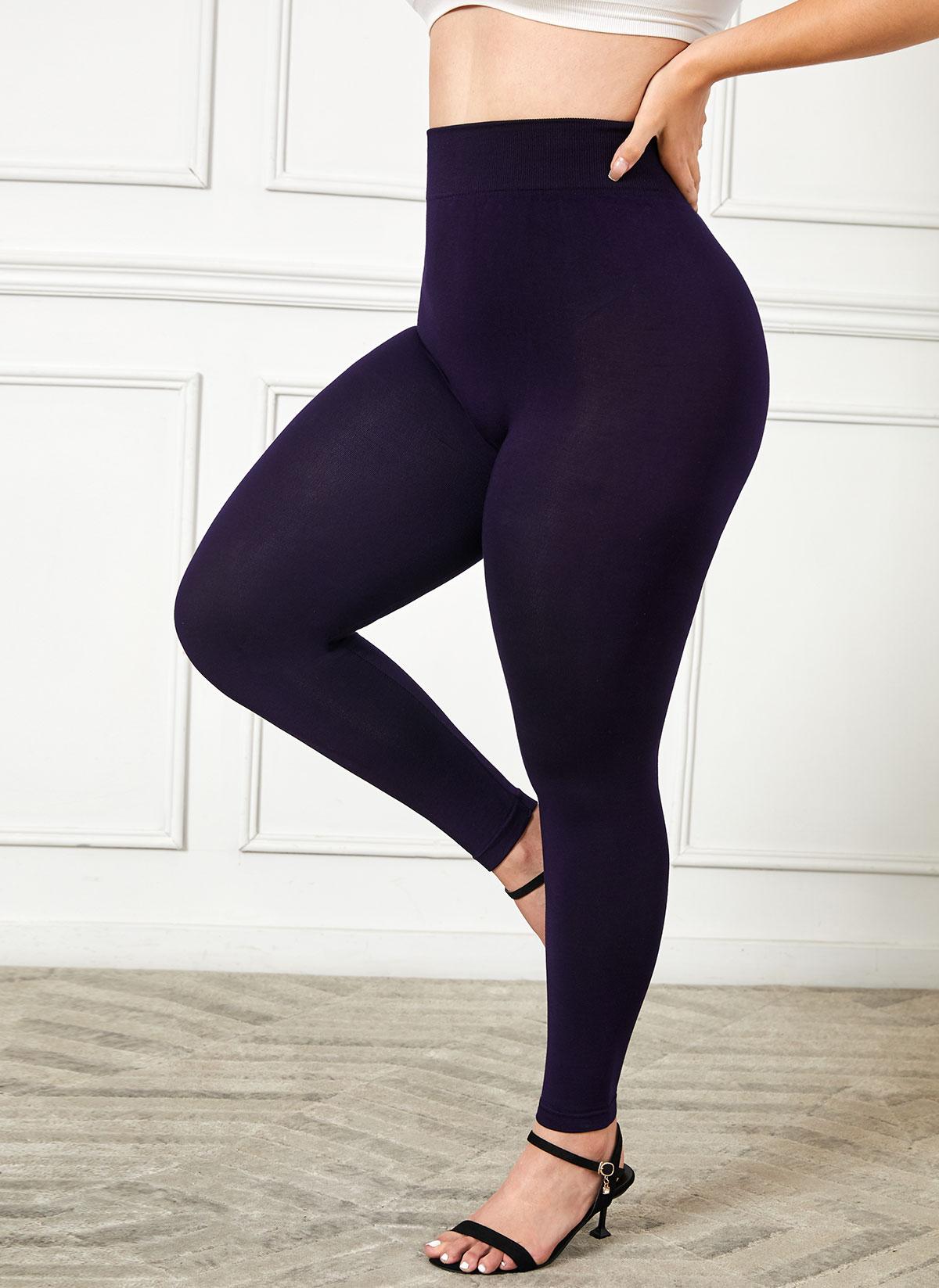 Plus Size High Waist Super Elastic Legging