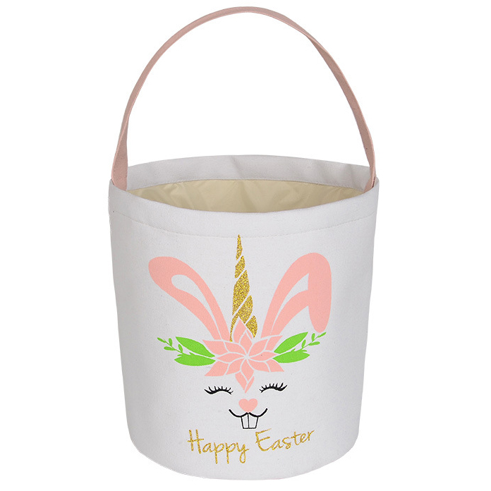 9.1 X 9.8 Inch Rabbit Drum Shape Candy Bag