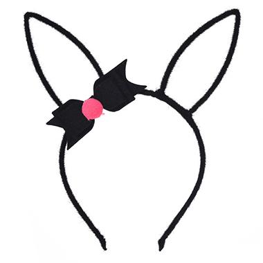 Bowknot Plush Rabbit Ears Easter Headband
