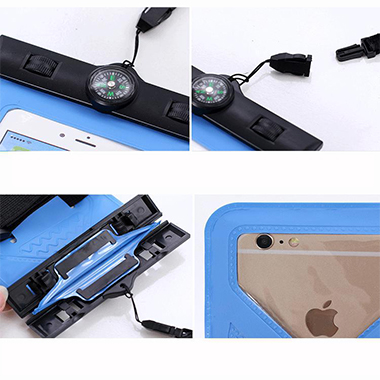 Sealed Transparent Multiway Contrast Phone Case