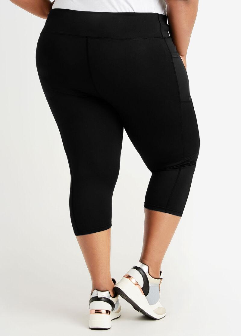 Plus Size High Waist Skinny Solid Pocket Pants