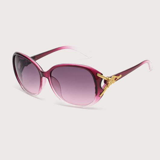 Cat Eye Frame Metal Detail TR Sunglasses
