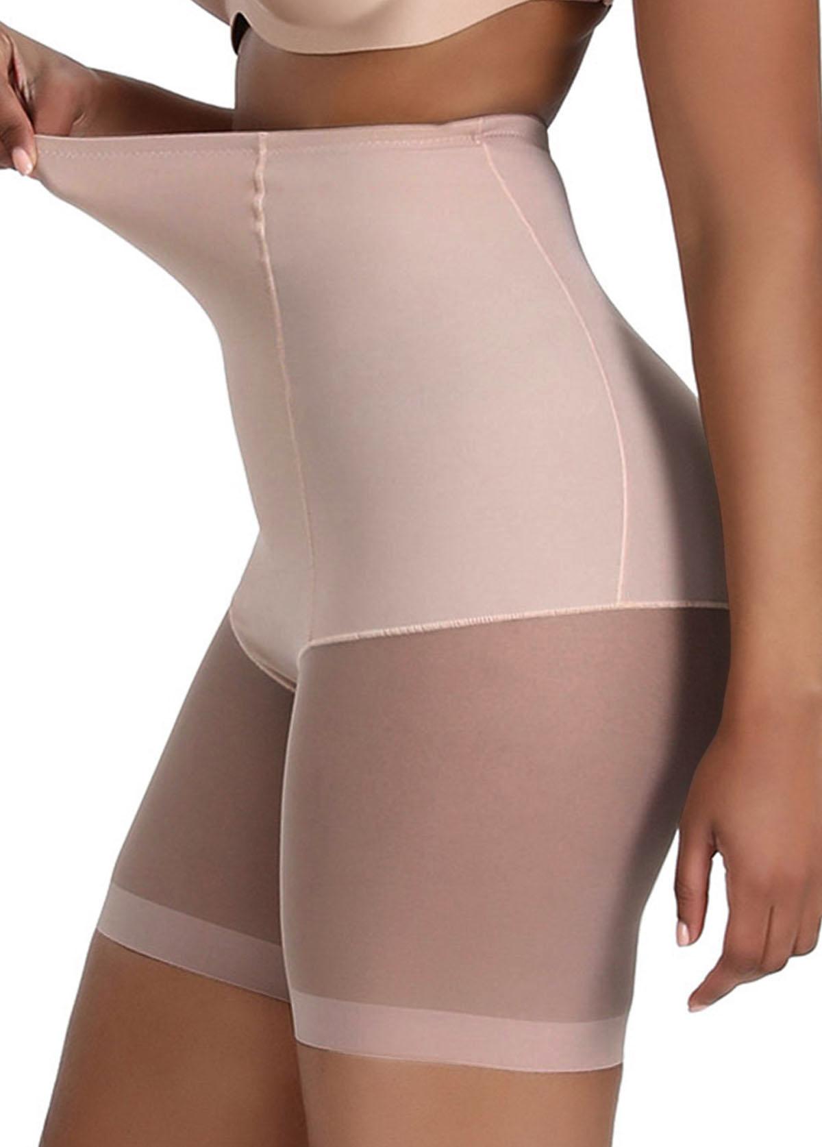 Light Khaki Size High Waisted Panties