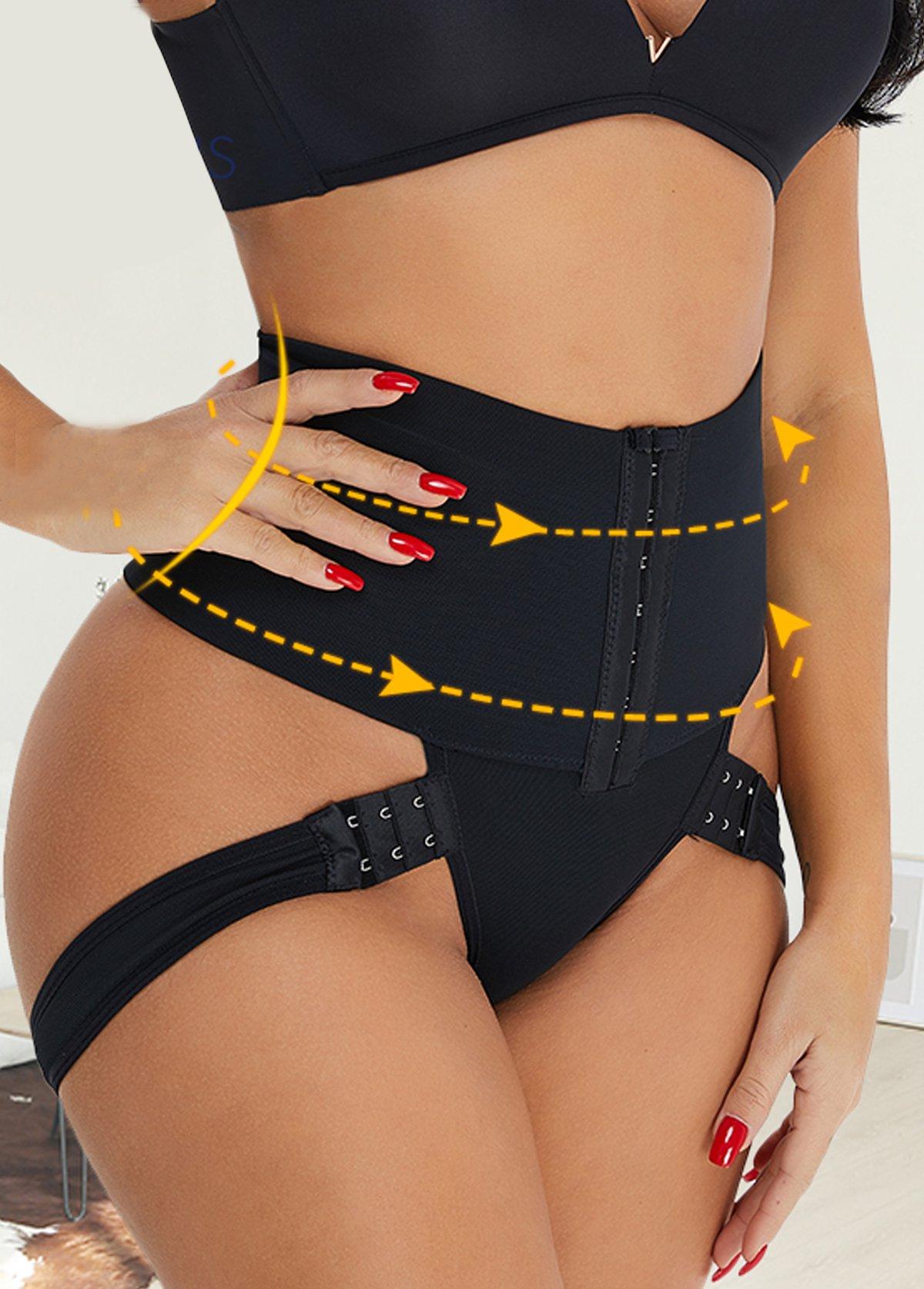 Solid Skinny High Waist Panties for Women