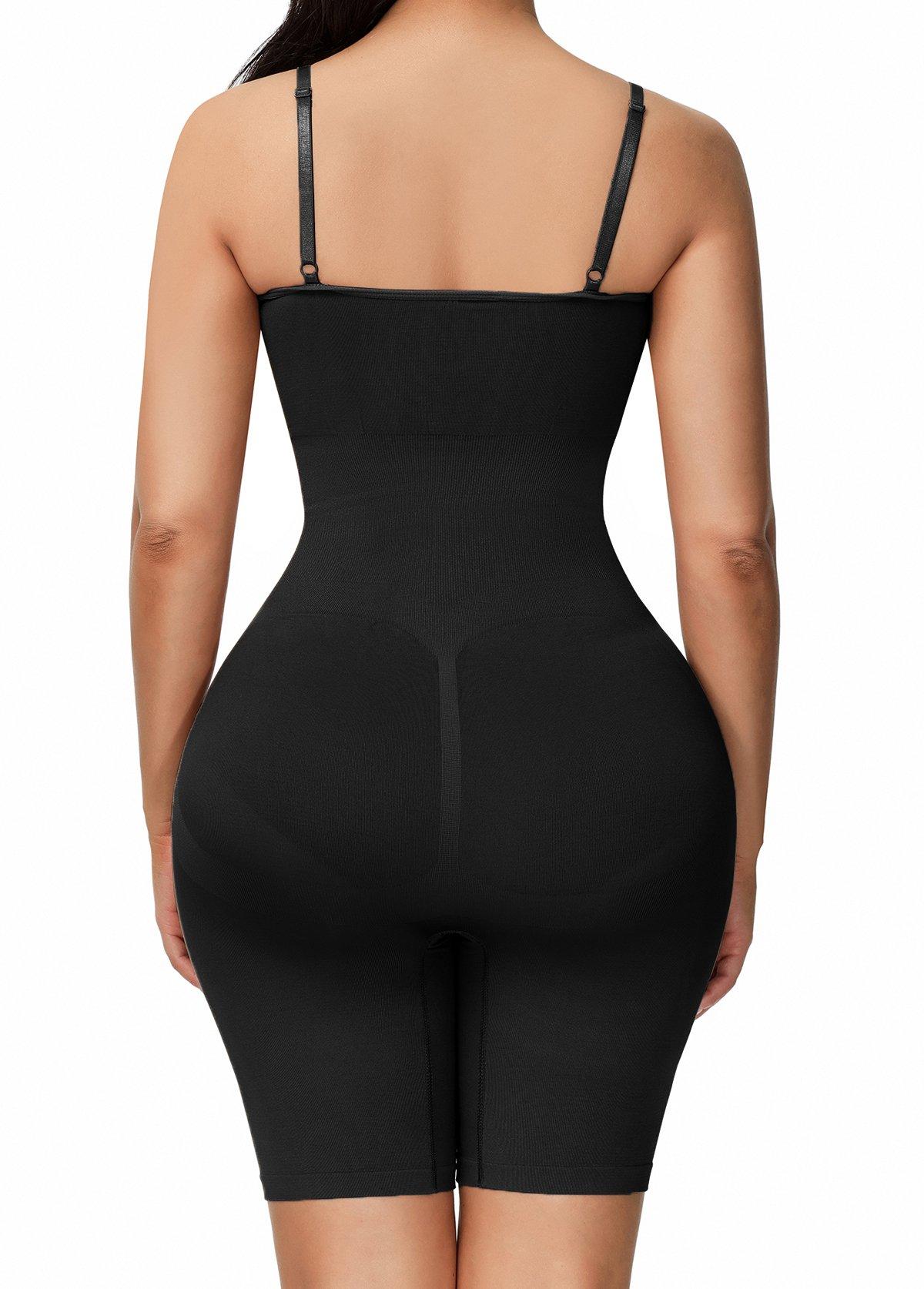 Spaghetti Strap Black Shapewear for Women